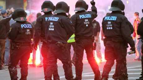 مظاهرات في شيمنيتس الألمانية