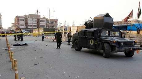 مدرعة عسكرية تابعة للجيش العراقي- أرشيف
