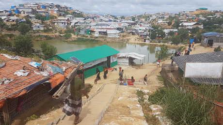 مخيم للاجئ الروهينغا، بنغلاديش