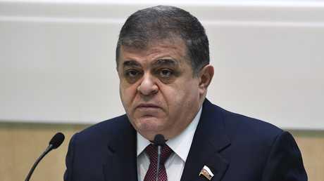 السيناتور الروسي فلاديمير جباروف