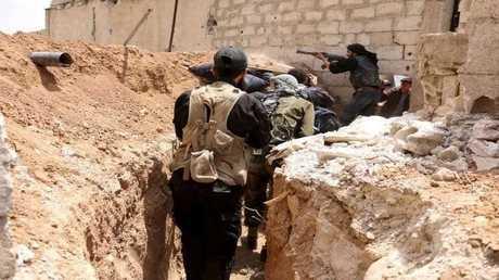 عناصر مسلحة في سوريا - ارشيف