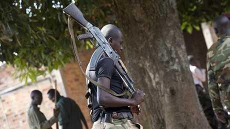 أحد أفراد الفصائل المسلحة في إفريقيا الوسطى - أرشيف