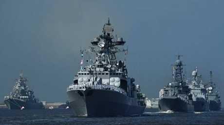 روسيا تغلق أجواء ومياه شرق المتوسط
