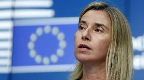 الممثلة العليا للشؤون الخارجية في الاتحاد الأوروبي فيديريكا موغيريني