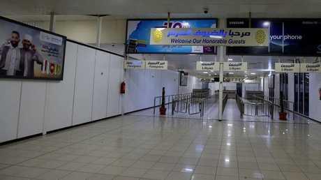 مطار معيتيقة في العاصمة الليبية طرابلس