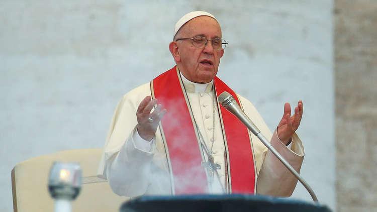 البابا يناشد المجتمع الدولي حماية المدنيين في إدلب