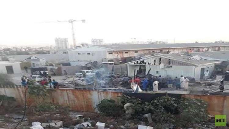 4 قتلى و7 جرحى بسقوط قذيفة على مخيم للنازحين في طرابلس