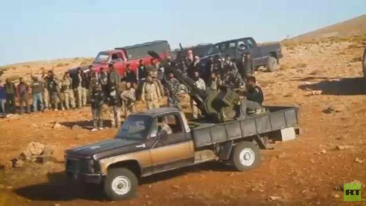 استهداف ريفي حماة واللاذقية بصواريخ غراد