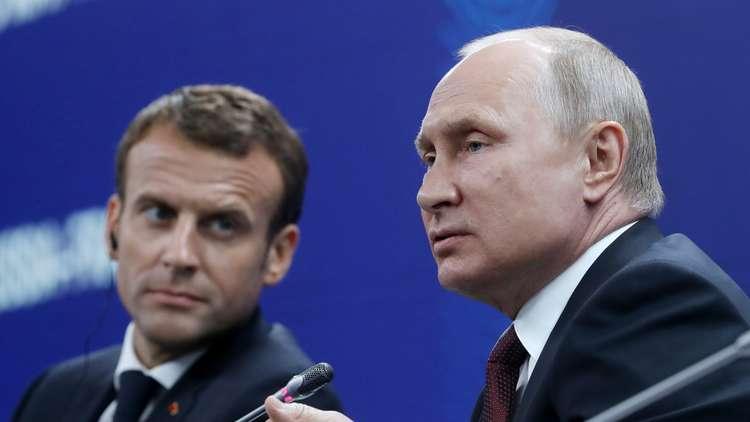صفقة مع بوتين حول سوريا تفتح آفاقا كبيرة أمام ماكرون