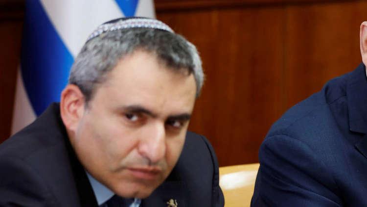 وزير شؤون القدس وحماية البيئة في الحكومة الإسرائيلية، زئيف إلكين