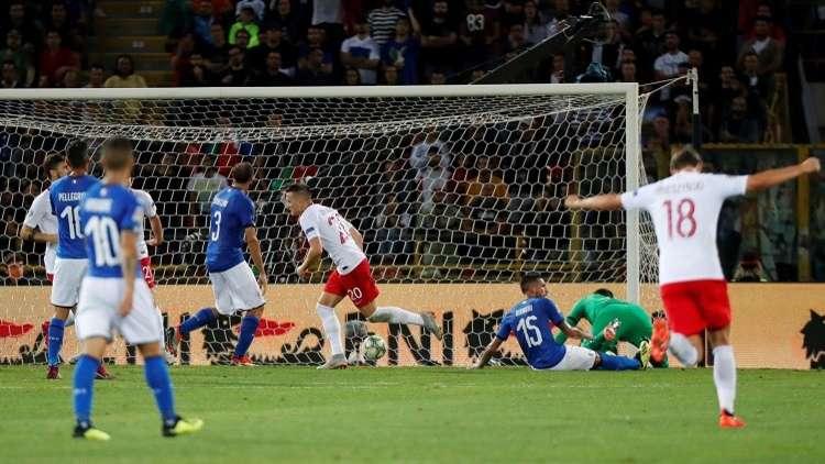 فيديو.. إيطاليا تنجو من الهزيمة على أرضها