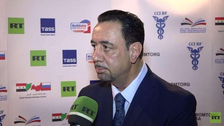 رئيس مجلس الأعمال الروسي السوري يكشف عن مهماته الأولوية