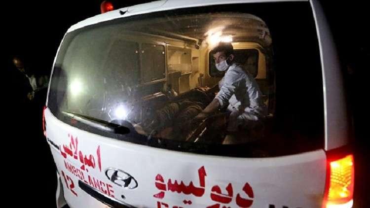 15 قتيلا و25 جريحا بحادث اصطدام حافلة بشاحنة في أفغانستان