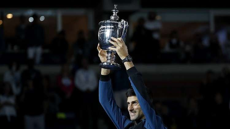 دجوكوفيتش يقهر ديل بوترو ويتوج بلقب بطولة أمريكا المفتوحة