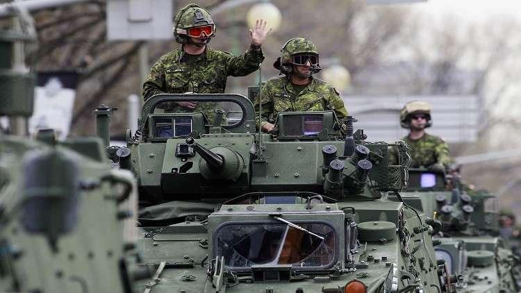 كندا تقلص توريدات العربات المدرعة للسعودية