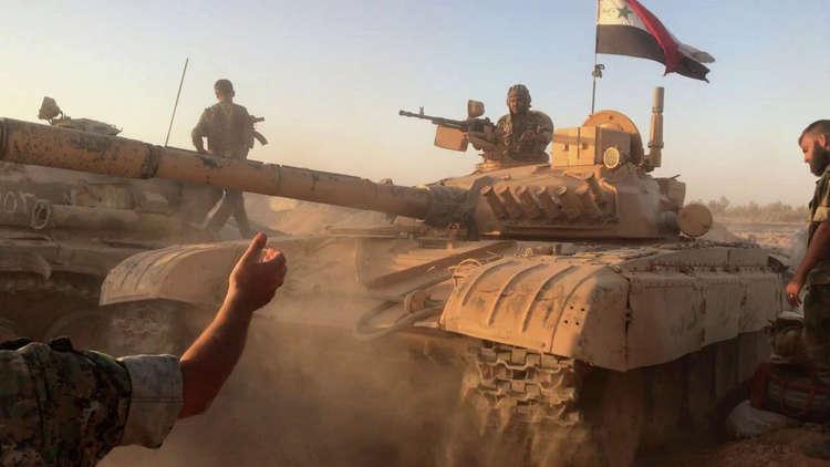 الجيش السوري يشن هجوما واسعا في ريفي حماة وإدلب