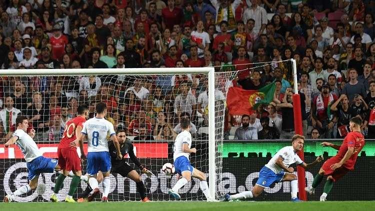 بالفيديو.. البرتغال تعمق جراح إيطاليا
