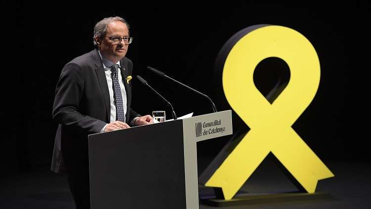 الانفصاليون في كتالونيا يخططون لمسيرة مطالبة بالاستقلال