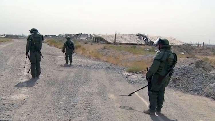 أوسمة رفيعة لمهندسين عسكريين روس لتنفيذهم مهام خاصة بسوريا