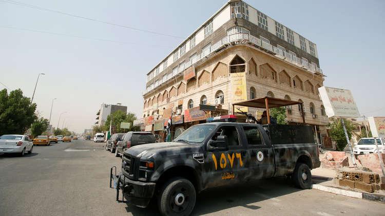استئناف المظاهرات في البصرة.. ومكتب العبادي ينفي محاصرته في فندق بالمدينة