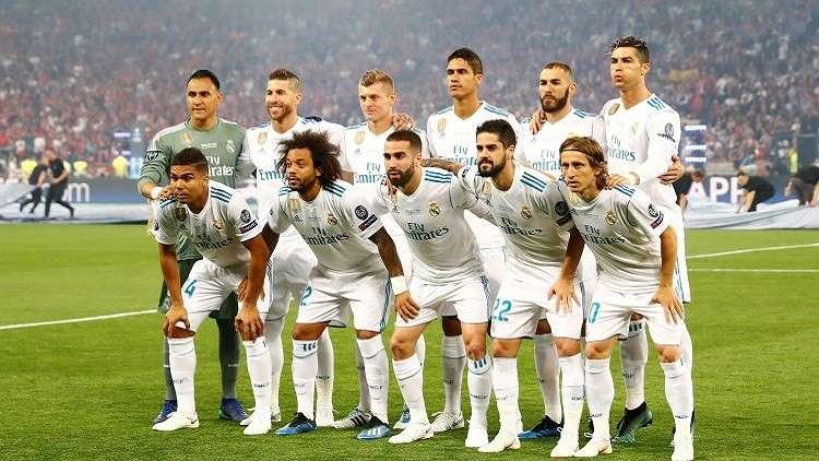 جميع لاعبي الريال في قائمة المرشحين للتشكيلة المثالية لعام 2018