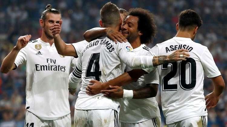 ريال مدريد يتوج بجائزة أفضل فريق في أوروبا للعام الثالث على التوالي