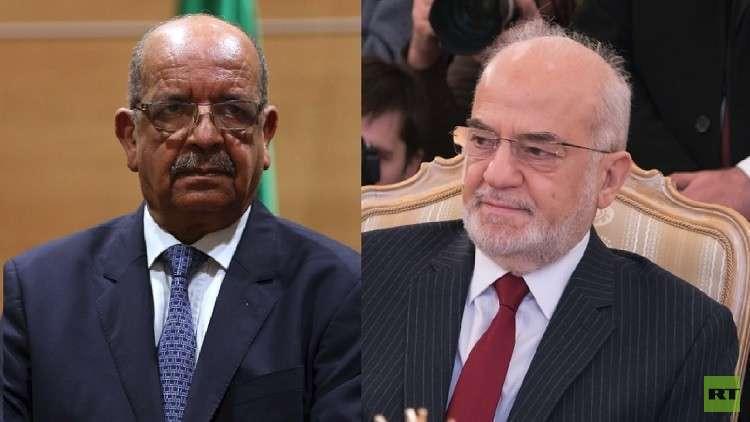 وزيرا خارجية الجزائر والعراق ينهيان أزمة
