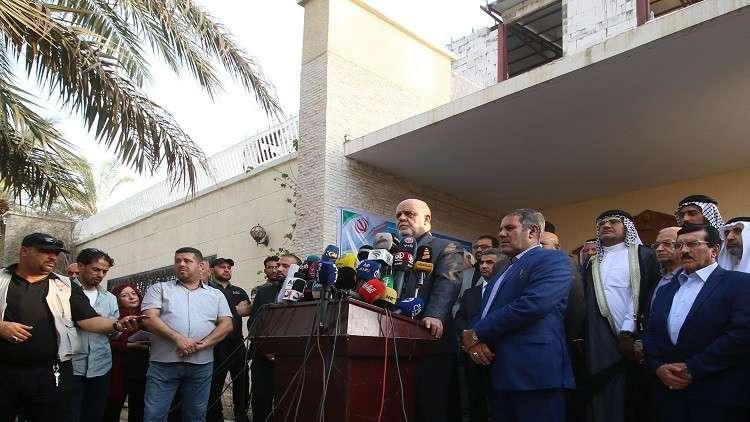 طهران تفتتح قنصلية جديدة في البصرة بعد أيام على حرق المبنى السابق