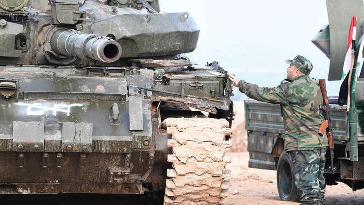 الجيش السوري يطلق عملية عسكرية من السخنة باتجاه التنف