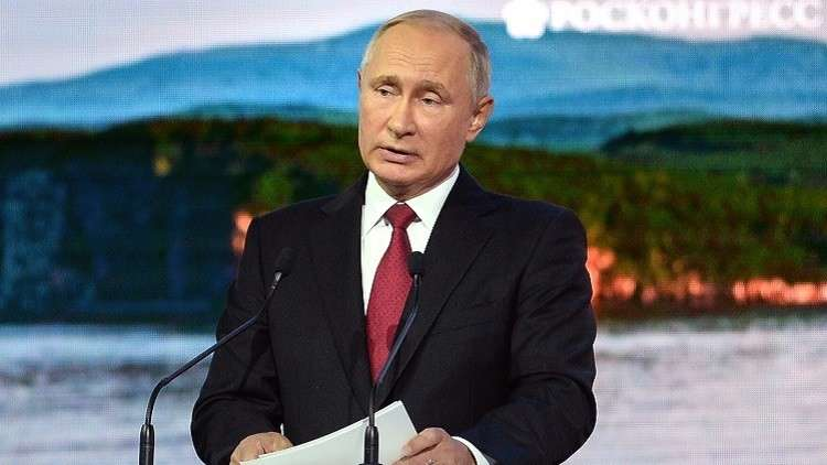 بوتين: منطقة الشرق الأقصى ستشكل أساسا للنمو الاقتصادي الروسي