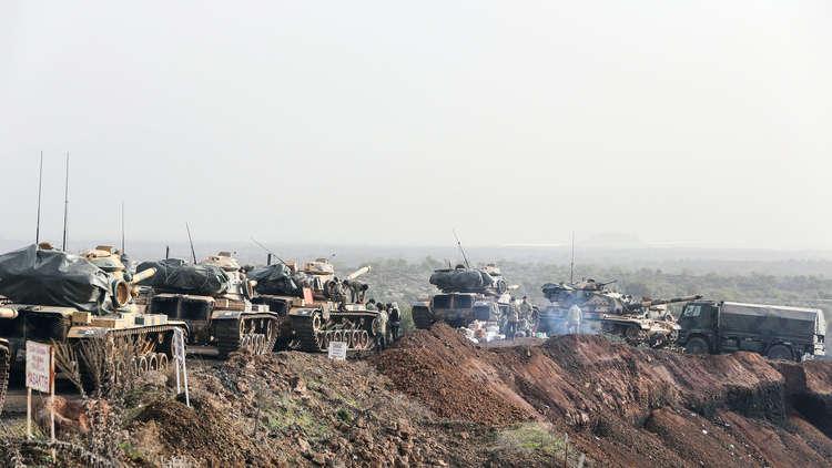 الجيش التركي يندفع إلى إدلب