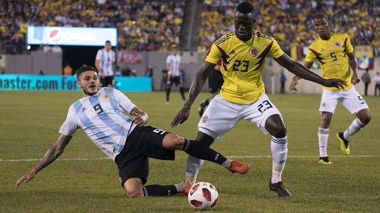 الأرجنتين من دون ميسي تتعادل سلبا مع كولومبيا
