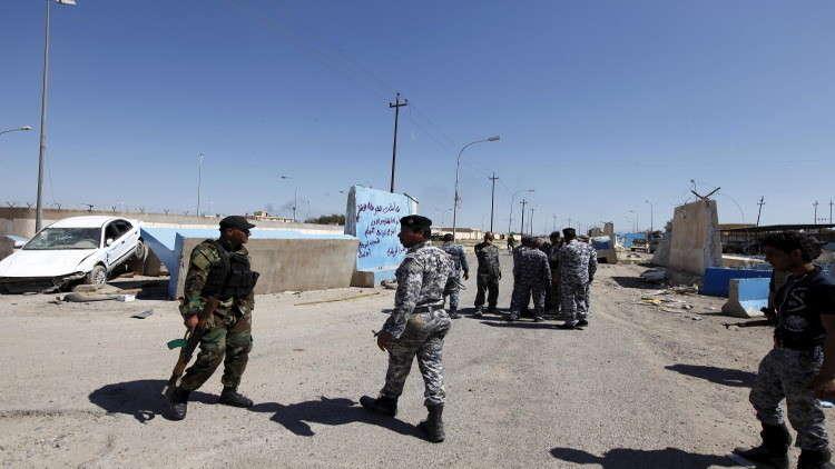عناصر أمن عراقيون في مدينة تكريت (صورة من الأرشيف)