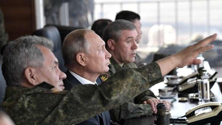 بوتين في مناورات الشرق 2018: روسيا لا تعتزم مهاجمة أحد
