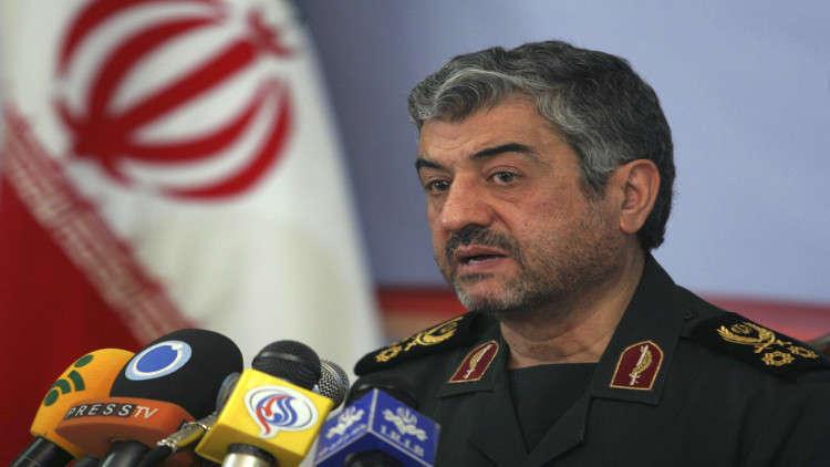 الحرس الثوري الإيراني يشيد بصواريخه وإصابتها تجمعا للإرهابيين شمالي العراق