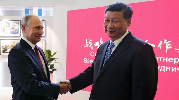 الإعلان عن زيارة بوتين للصين العام المقبل