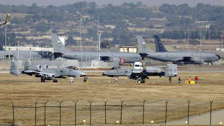 الولايات المتحدة لا تعتزم إنهاء وجودها في قاعدة إنجرليك التركية