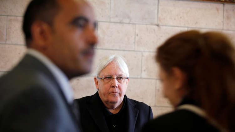 غريفيث يبحث مع الحوثيين سبل تنظيم مفاوضات سلام جديدة