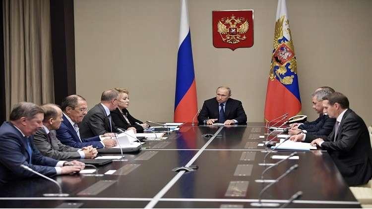 بوتين يترأس اجتماعا لمجلس الأمن الروسي