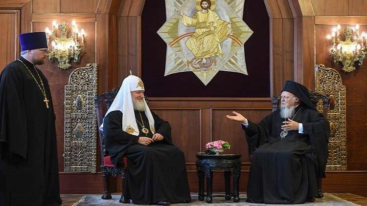 البطريرك كيريل يحذر من تحركات القسطنطينية