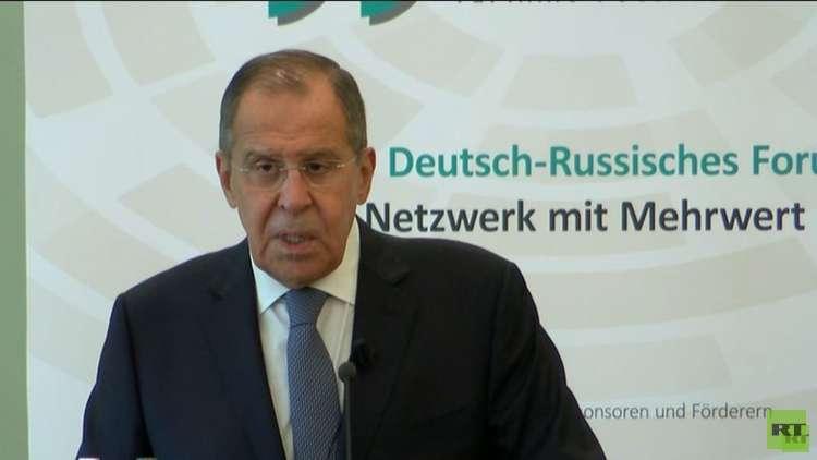 لافروف: روسيا ستستهدف معامل سرية لتركيب طائرات مسيرة في إدلب