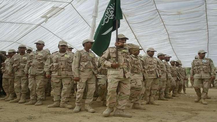 بالصور.. جنود سعوديين في مناورات