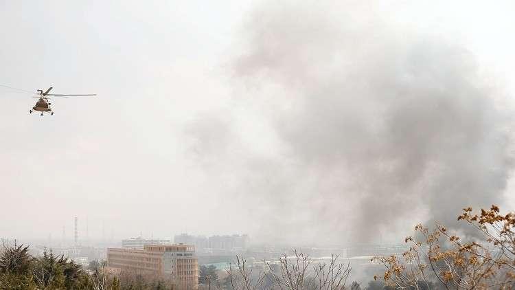 مقتل 5 أشخاص بتحطم مروحية في أفغانستان