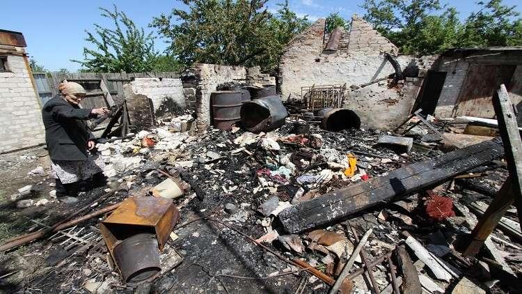 واشنطن تشير إلى سخونة النزاع في دونباس