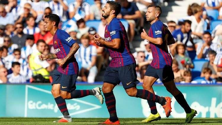 بالفيديو.. برشلونة يقلب الطاولة على ريال سوسيداد
