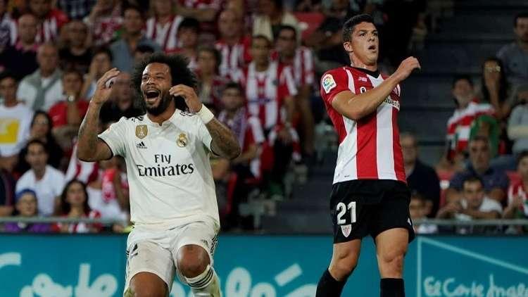 شاهد.. ريال مدريد يسقط في كمين بيلباو