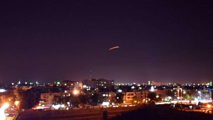 ماذا الذي تم قصفه قرب مطار دمشق الدولي؟