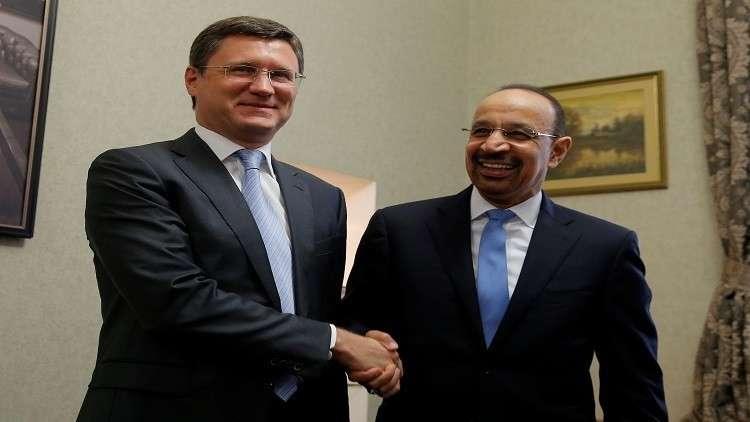 وزير الطاقة الروسي يبحث في موسكو مع نظيره السعودي التعاون الثنائي