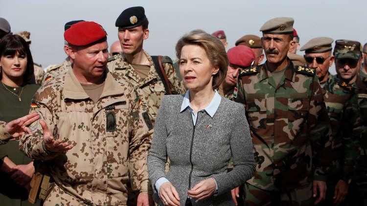 وزيرة دفاع ألمانيا: ملتزمون بمساعدة العراق