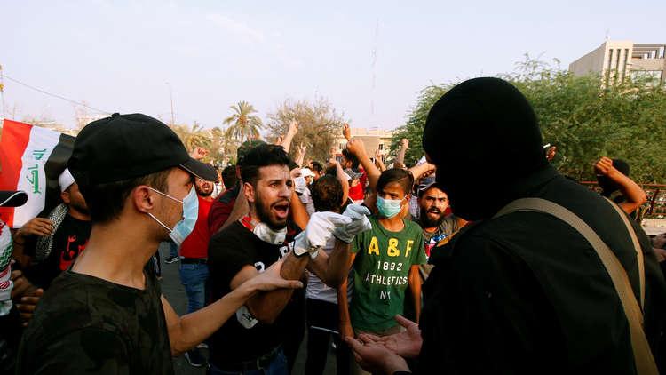 تظاهرات في البصرة تطالب بكشف مصير 30 متظاهرا مختفين